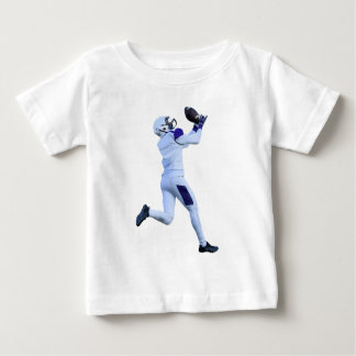 Receiver Catching the Long Bomb Baby T-Shirt