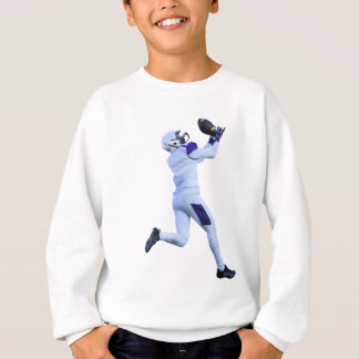Receiver Catching the Long Bomb Sweatshirt