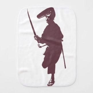 Recent samurai burp cloth