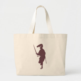 Recent samurai large tote bag