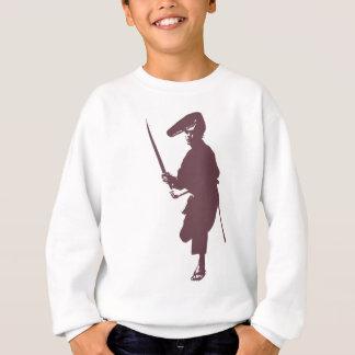 Recent samurai sweatshirt