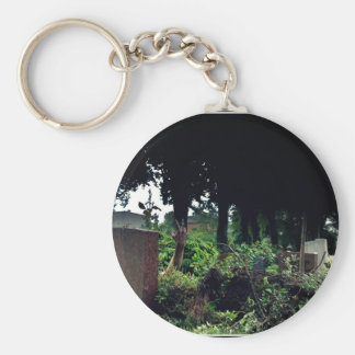 Recently on the cemetery basic round button keychain