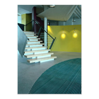 Reception area and staircase for Business Design S Card