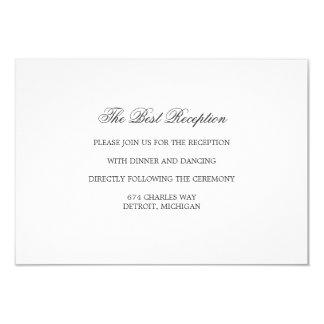 Reception Card - THE BEST Suite