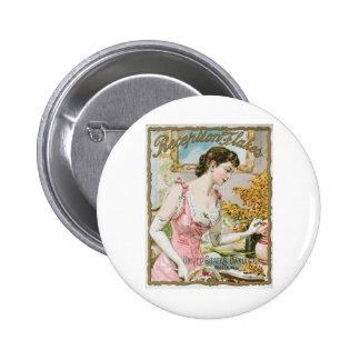 Reception Flakes Vintage Baking Ad Art 2 Inch Round Button