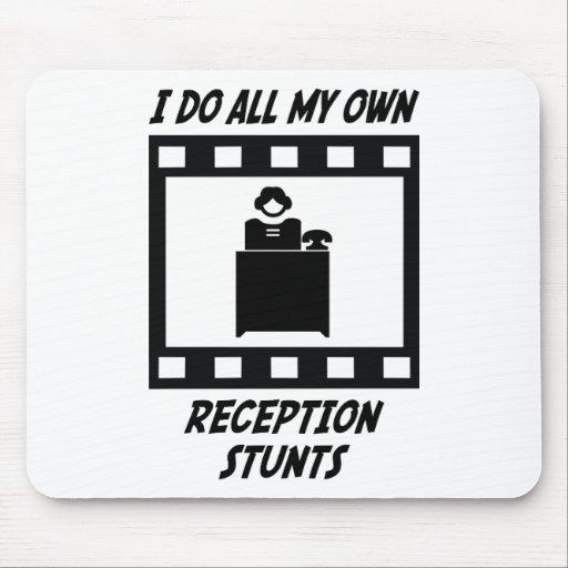 Reception Stunts Mouse Mat