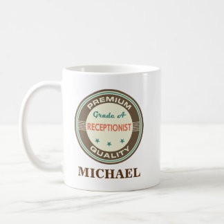 Receptionist Personalized Office Mug Gift