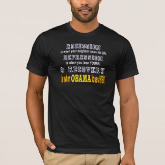 Recession, Depression & Recovery T-Shirt