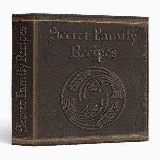 Recettes secrètes antiques de famille