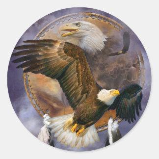 Receveur rêveur - autocollants d'art d'Eagles