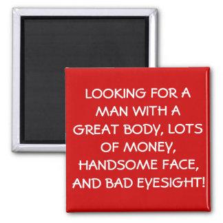 recherche d'un aimant d'homme