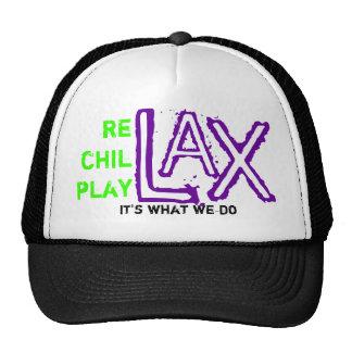 rechillplay lax mesh hat