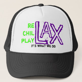 rechillplay lax trucker hat