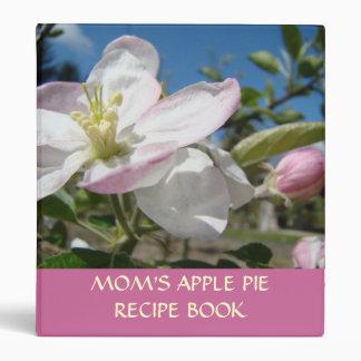 RECIPE BINDER GIFT Mom's Apple Pie Recipe Book