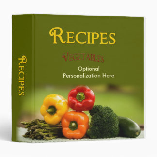 Recipe Binder - Vegetables