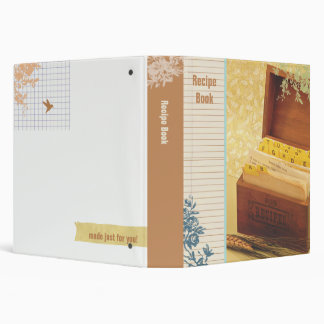 Recipe Book Binder