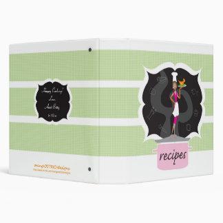 Recipe Book - Cooking Diva Vinyl Binder
