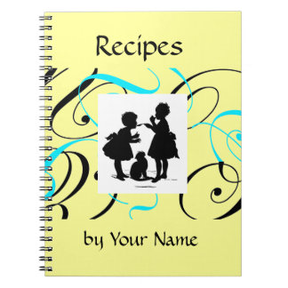 Recipe Book Custom Notebook