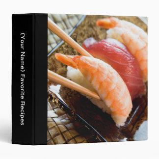 Recipe Cookbook Binder - Oriental Food