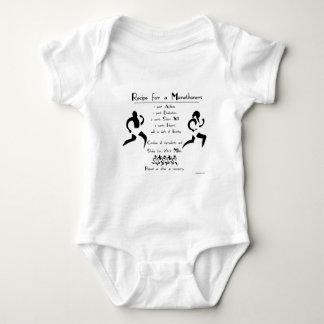 Recipe for a Marathoner Baby Bodysuit