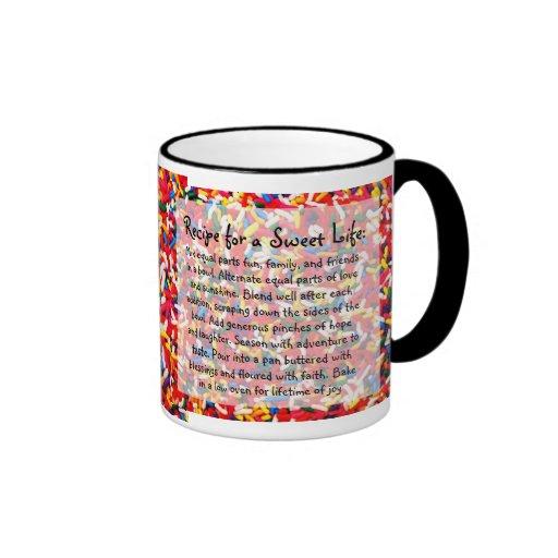 Recipe for a Sweet Life Mug