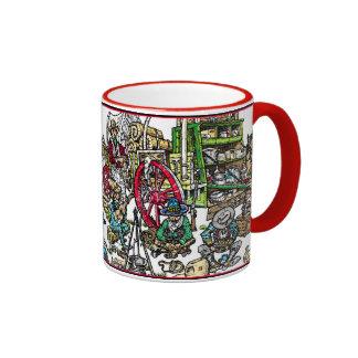 Recipe for Cowboy Coffee Ringer Coffee Mug