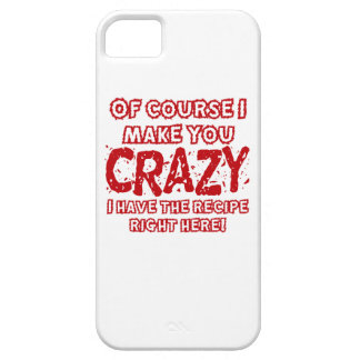 Recipe For Crazy iPhone 5 Cover