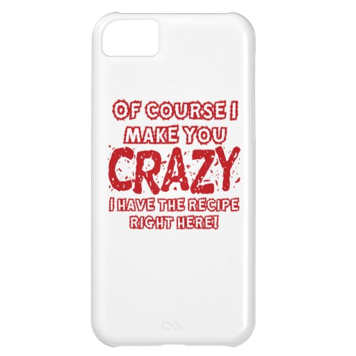 Recipe For Crazy iPhone 5C Covers