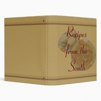 Recipes from The South Binder