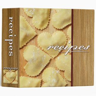 recipes (ravioli) binder