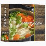 recipes (soup) vinyl binders