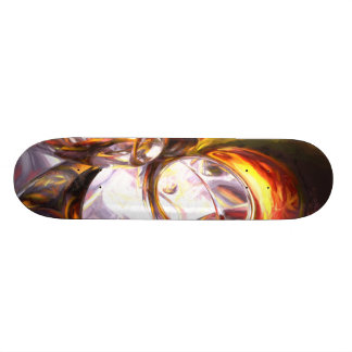 Reckless Defiance Pastel Abstract Custom Skateboard