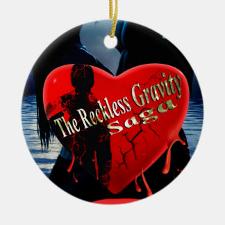 Reckless Love Ceramic Ornament