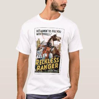 Reckless Ranger 1937 vintage movie poster T-shirt