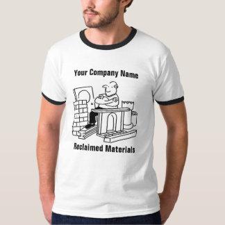 Reclaimed Building Materials Cartoon T-Shirt