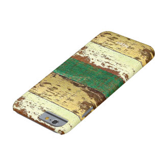 Reclaimed Wood Pattern iPhone 6/6S Case