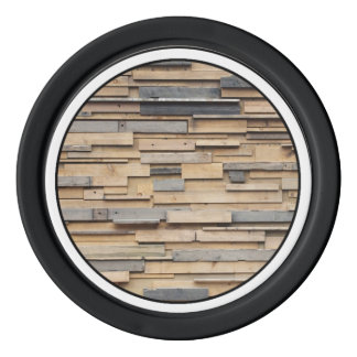 Reclaimed Wood, Sustainable Material Poker Chips