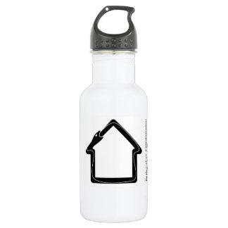 Reclamation Administration black logo. 532 Ml Water Bottle
