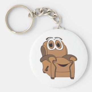 Recliner Cartoon Keychain