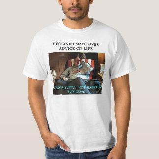 RECLINER MAN IS LIFE COACH T-Shirt