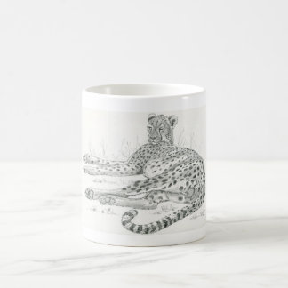 Reclining Cheetah  Mug