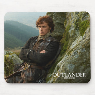 Reclining Jamie Fraser photograph Mouse Pad