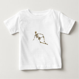 Reclining Skeleton Baby T-Shirt