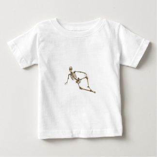 Reclining Skeleton Baby T-Shirt