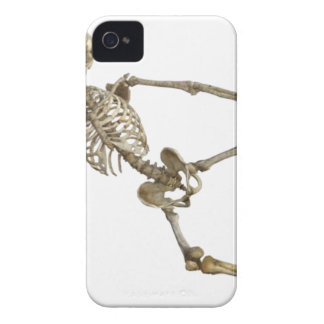 Reclining Skeleton iPhone 4 Cover