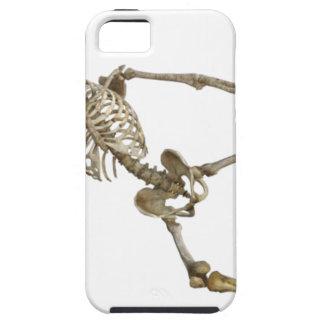 Reclining Skeleton iPhone 5 Cases