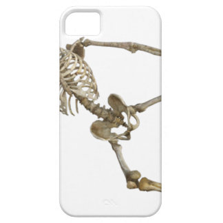Reclining Skeleton iPhone 5 Covers