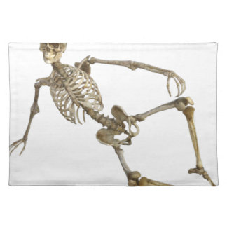 Reclining Skeleton Placemat