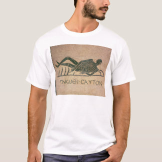Reclining skeleton with the caption 'Know T-Shirt