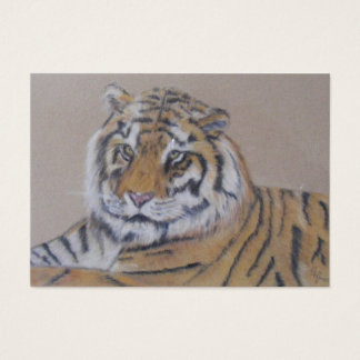 Reclining Tiger Business Card
